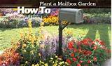How To Plant a Mailbox Garden - Video -