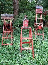 lots of ideas for decorating with ladders rustic crafts chic decor