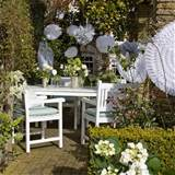 set the mood garden party ideas outdoor dining garden decoration
