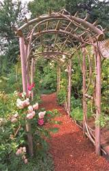 rustic arbor idea outdoors