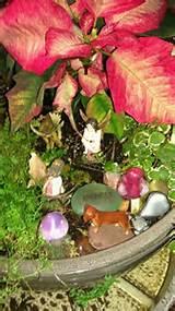 Christmas fairy garden. | Fairy Gardens | Pinterest