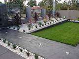 ideas easy landscaping ideas for small front yard 560x420 Simple Front ...