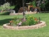 flower bed around treeCare Weed, Easy Care, Flower Gardens, Backyards ...