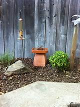 Homemade Birdbath | Garden ideas | Pinterest