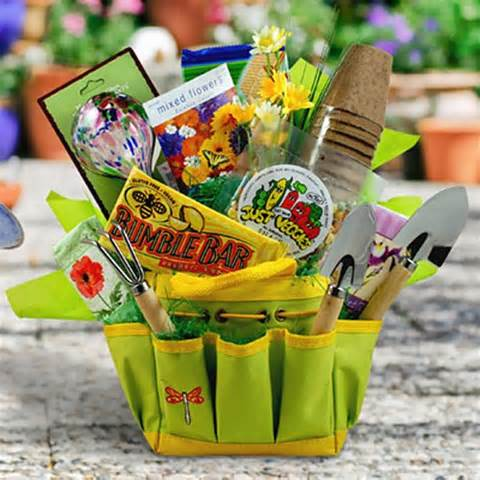 garden gift tote holiday gift baskets at gift baskets