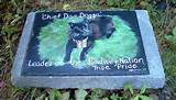 Garden pet memorial stone | Love Dogs? Pin Here!!! | Pinterest