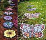 23 Fun and Whimsical Garden Stepping Stone Ideas - Cupcakepedia