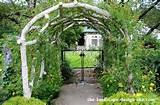 rustic garden arbor ideas