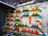 Hydroponic vertical garden | Hydrophonic | Pinterest