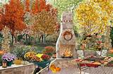 ... festive fall outdoor entertaining ideas landscaping ideas for fall