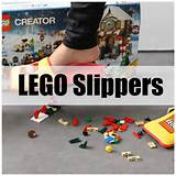 gift idea lego slippers