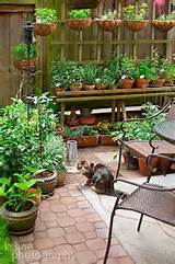 Container herb and vegetable garden. I would love it if my container ...