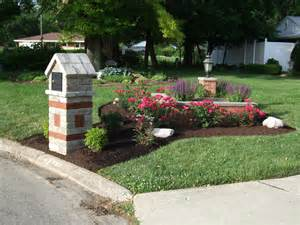 Idea here: Ideas for landscaping around mailbox