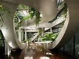 vuga architects also stretch the possibilities of indoor gardens