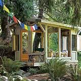 poppytalk backyard garden cottages and sheds