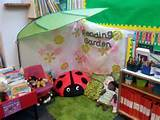 Book corner idea- reading garden | Preschool craft ideas | Pinterest