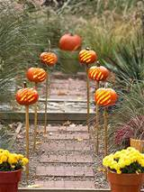 add pumpkins to your garden pathway
