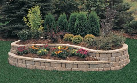 Anchor™ Meadow Stone® Retaining Wall, Small | Pavestone