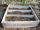 Repurposed garden | gardening ideas | Pinterest