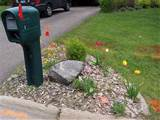 Mailbox Landscape Before