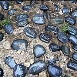 The 9/11 Memorial Rock Garden at the Mid-Island Y JCC. So inspiring!!