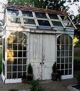 20 Ideas to Recycle Old Wood Windows for Green Building with Salvaged ...