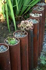 creative ideas for diy garden borders