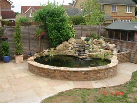 Raised Backyard Pond Raised preformed fibreglass