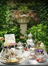 elegant garden tea party tea party pinterest