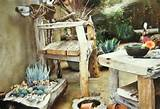 rustic furniture | Garden Ideas | Pinterest