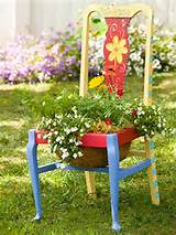 Gallery of Creative Chair Planters For Home Garden
