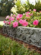 unique garden edging ideas