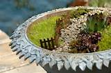 Fairy garden path planter. | fairy house ideas | Pinterest