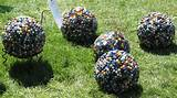 Garden Art Projects Bowling Ball Mosaic Garden Art