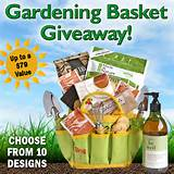 gardening gift basket giveaway up to a 79 value aa gifts