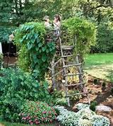 Gartengestaltung Ideen für die Kinder - die Spielecke bereitet Freude