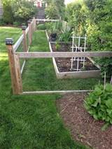 homemade garden fence with raised beds garden pinterest