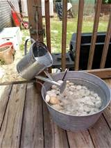 My homemade water fountain | Outdoor ideas | Pinterest