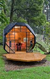 cool child playhouse in a back yard polyhedron habitable by manuel