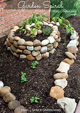 ... small vegetable garden with a garden spiral | OhMy-Creative.com