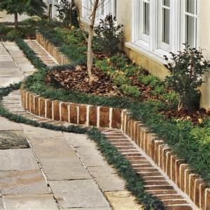 Design a Brick Border for a Garden Courtyard | Southern Living