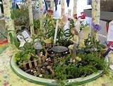 fairy garden using mini hostas garden ideas pinterest