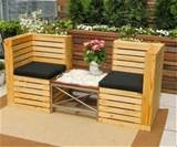 indoor and outdoor pallet bench sitting area pallet furniture