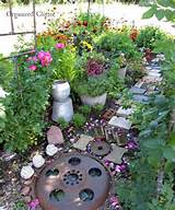 garden ideas art decorations funky flowers gardening outdoor living