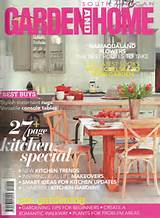 click here for large cover image of garden home august 2013