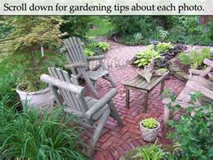 landscape design ideas gardening calendar and rustic birdhouses