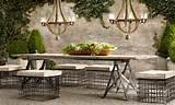 restoration hardware outdoor furniture restoration hardware outdoor