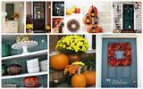 Home Made Modern: Pinterest: Easy Fall Decorating Ideas
