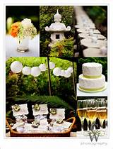 Japanese Gardens Wedding Cake Ideas and Designs