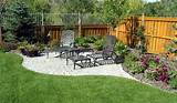 landscaping around fence ideas gardening patio porch terrace
